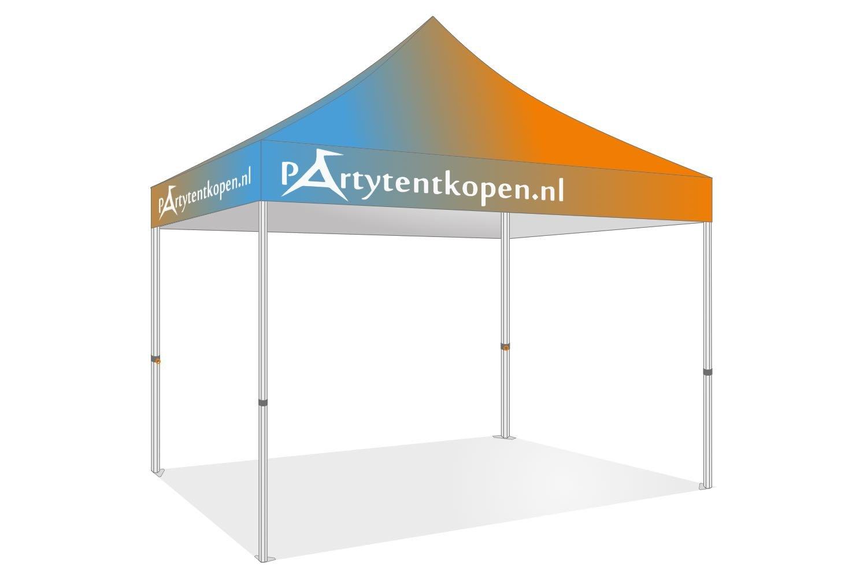 Goede Bedrukte opvouwbare Partytent 3x3 Professional - Partytentkopen.nl CS-18