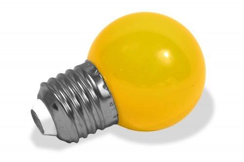 led lamp geel e27 fitting