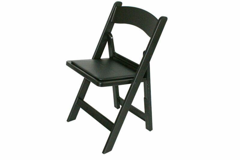 zwarte bruiloft stoel